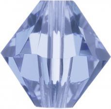 sw bicone 6 mm: light sapphire