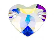 3259 varrható szív crystal AB 12 mm