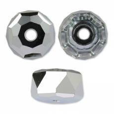 5045 rondelle gyöngy light chrome 6 mm