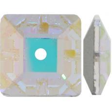 3400 varrható négyzet crystal AB 6 mm