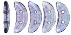 crescent gyöngy: áttetsző lüszteres ametiszt 20 db