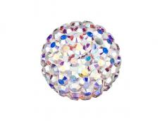 sw pavé gyöngy crystal AB 8 mm