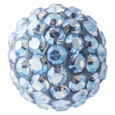 sw pavé gyöngy light sapphire shimmer 8 mm