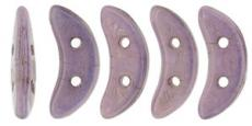crescent gyöngy: lila lüszteres 20 db