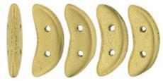 crescent gyöngy: metál arany 20 db