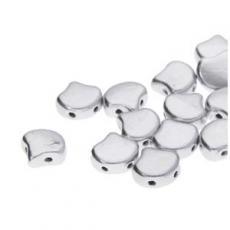 Ginko matt metál ezüst 20 db