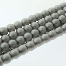 6 mm cseh tekla: matt ezüst kb. 38 db