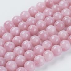 antik rózsaszín jade utánzat 10 mm