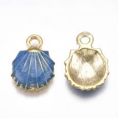 kék kagyló medál