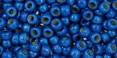 Toho 8/0 matt galvanizált óceán kék 10 g