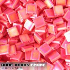 miyuki tila matt telt piros AB kb. 2,5 g