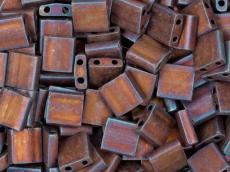 miyuki tila matt metallic copper kb. 2,5 g