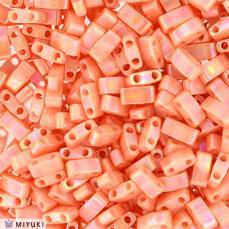 miyuki half tila opaque salmon luster kb. 2,5 g