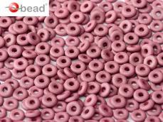O-bead: pasztel matt burgundy 2,5 g