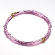 2,0 alumínium drót rózsaszín 5 m