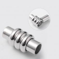 mágneses csőkapcsoló 4 mm kerek bőrhöz/csk