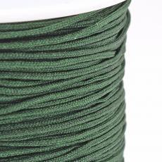 0,8 mm selyemzsinór 1 m sötétzöld
