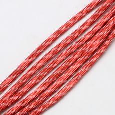 paracord zsinór 4 mm 1 m piros-fehér