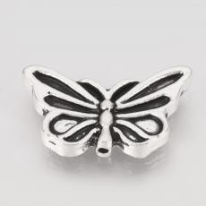 antik ezüst pillangó köztes 10 db