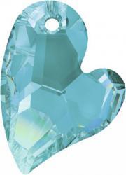 sw6261 szív függő aquamarine