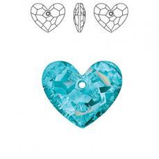 sw6264 szív függő aquamarine