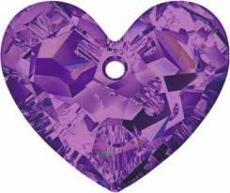 sw6264 szív függő amethyst