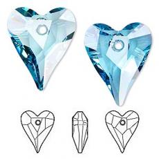 sw6240 szív függő aquamarine