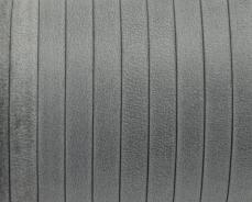 5 mm bőr karkötő alap matt szürke 20 cm