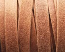 10 mm bőr karkötő alap matt camel 1 cm