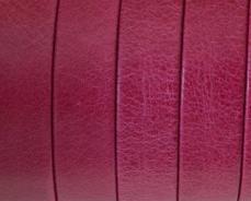 10 mm bőr karkötő alap fukszia 1 cm