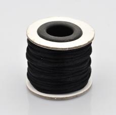 2 mm fekete selyemzsinór kb. 10 m