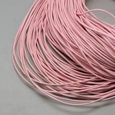 1,5 mm rózsaszín gömbölyített bőrszál