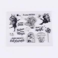 szilikon tündérkés bélyegzőkészlet