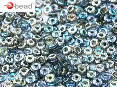 O-bead: crystal graphite rainbow 2,5 g