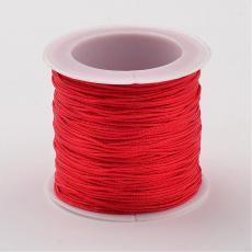 0,8 mm selyemzsinór 35 m piros