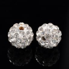 shamballa gyöngy fehér-kristály