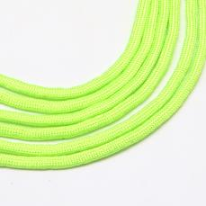paracord zsinór 4 mm 1 m neon zöld