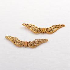 antik arany színű nagyobb angyalszárny 5 db