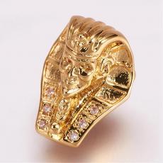 cirkonia fáraó köztes 1 db arany színű