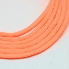 paracord zsinór 4 mm 1 m neon narancs
