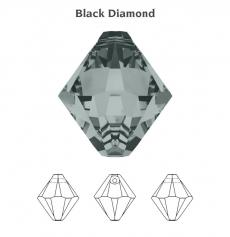 6 mm bicone függő black diamond