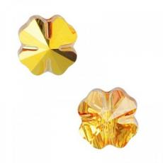 5752 négylevelű lóhere gyöngy 8 mm crystal metallic sunshine