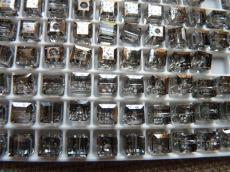 5601 kocka gyöngy 6 mm: crystal silver patina