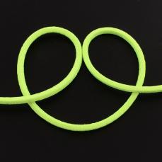 3 mm gumis selyemzsinór 1 m neon zöld