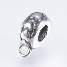 medáltartó: rozsdamentes acél szives 1 db