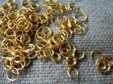 szerelőkarika: vegyes arany 4 gr