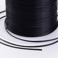 0,8-as gumis damil többszálas nagyobb kiszerelés fekete