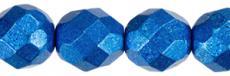 csiszolt gyöngy 6 mm: saturated metallic galaxy blue 25 db