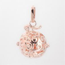 Angyalhívó medál rose gold ornament