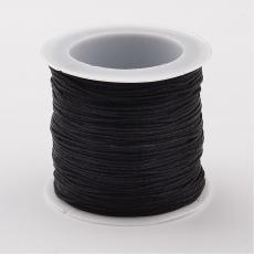 0,8 mm selyemzsinór 35 m fekete